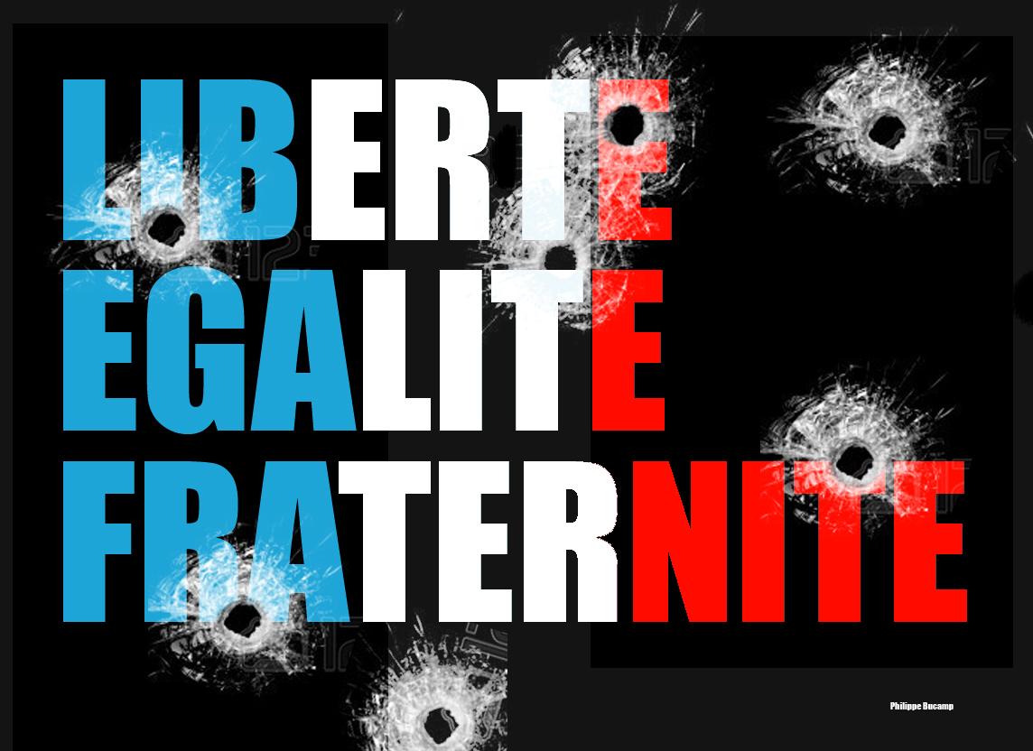 LIBERTE-EGALITE-FRATERNITE