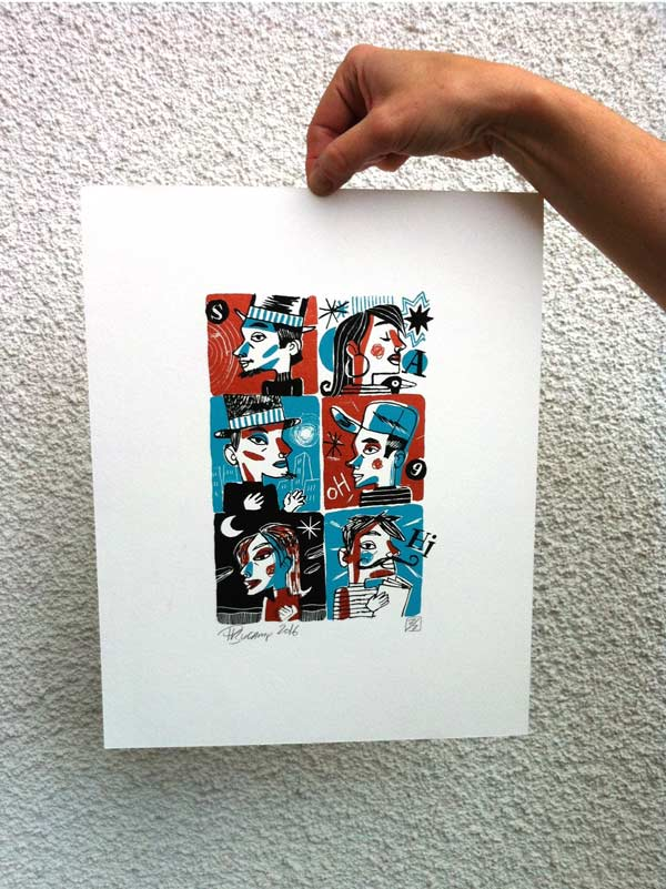 Philippe Bucamp serigraphie 04