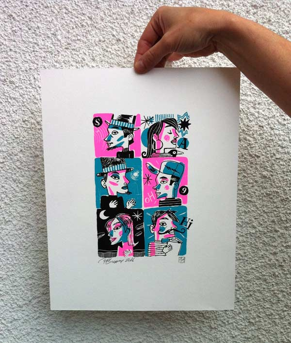 Philippe Bucamp serigraphie 06