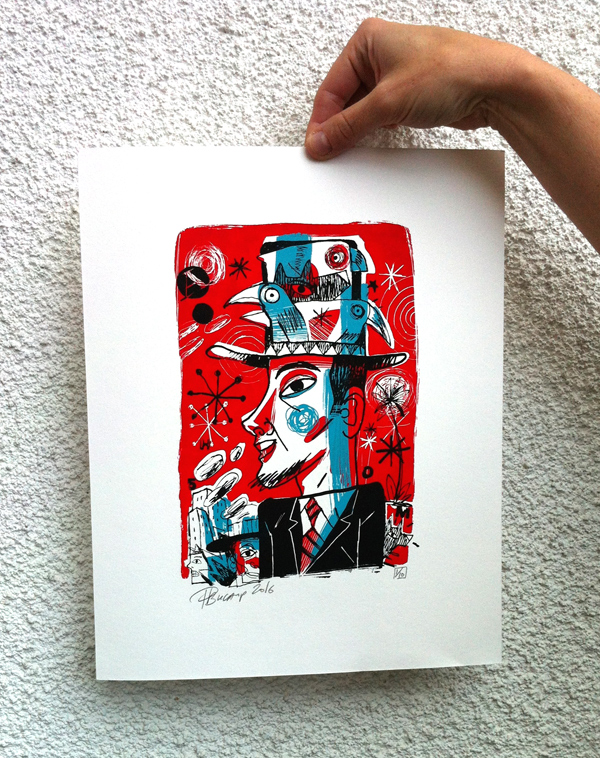 Philippe Bucamp serigraphie 07