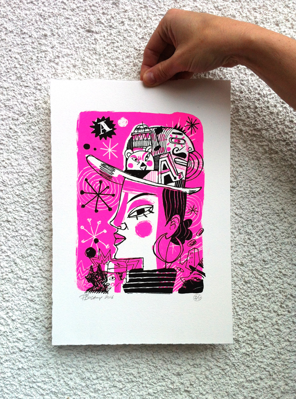 Philippe Bucamp serigraphie 08