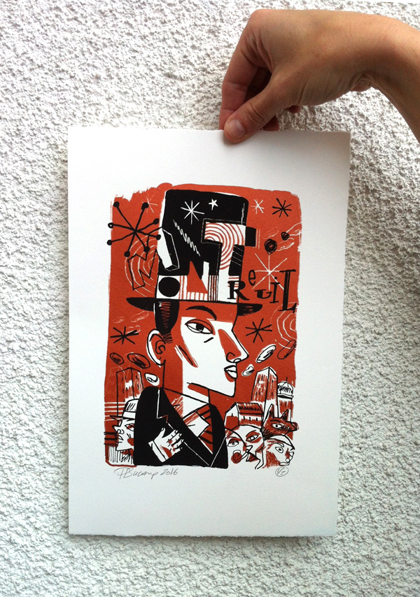 Philippe Bucamp serigraphie 10