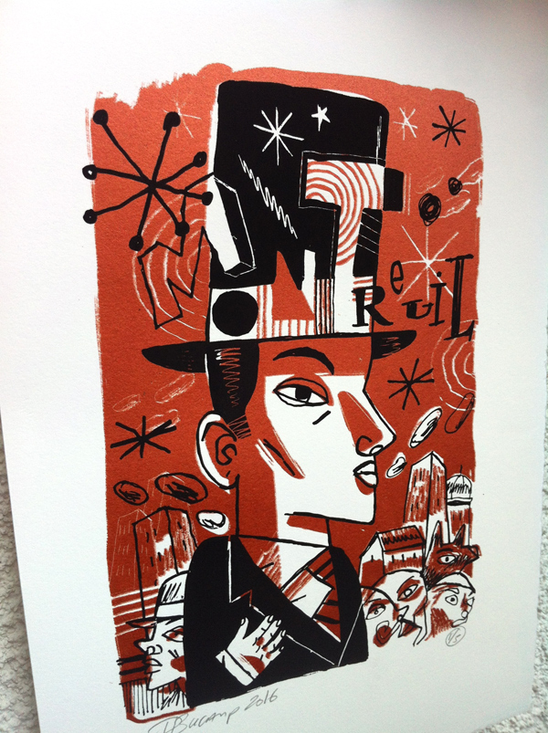Philippe Bucamp serigraphie 11