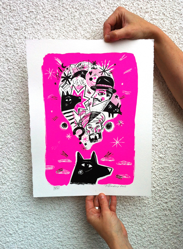 Philippe Bucamp serigraphie 17